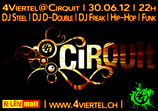 4Viertel Cirquit Neuer Flyer