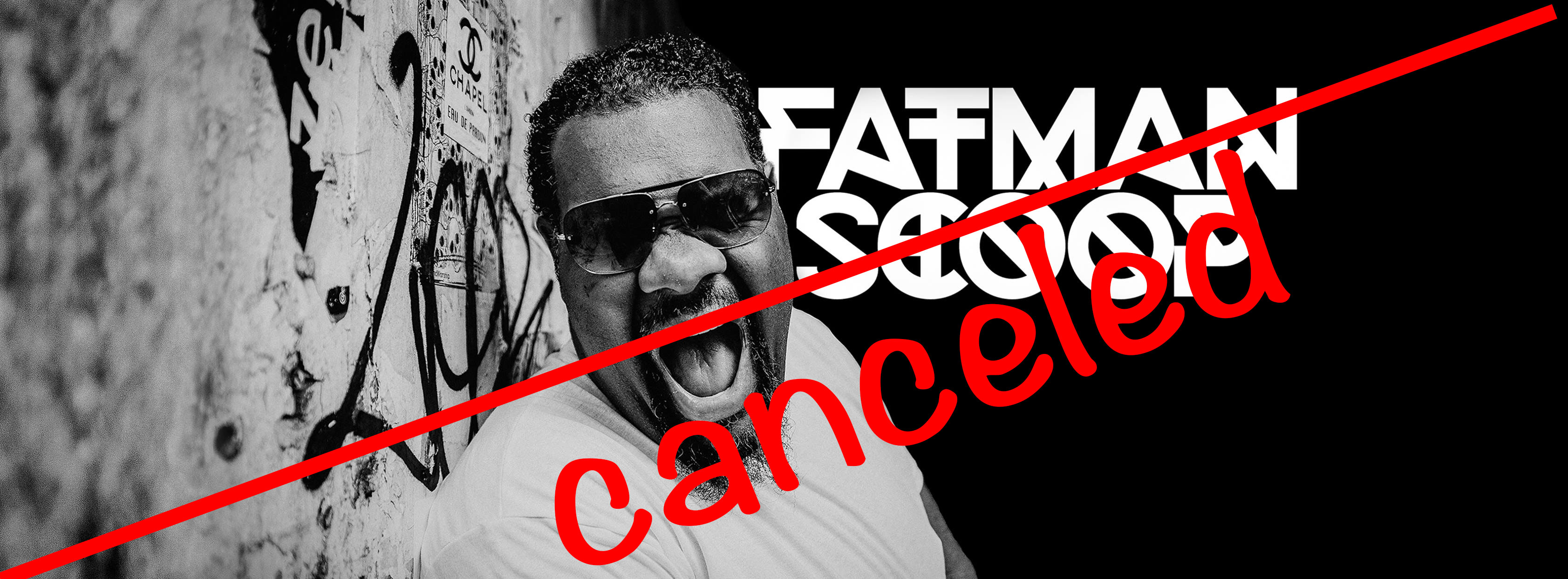 Fat Man Scoop FB Banner canceled